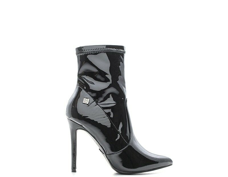 Chaussures LAURA BIAGIOTTI Femme noir PU,Vernies 5009VAT-NE