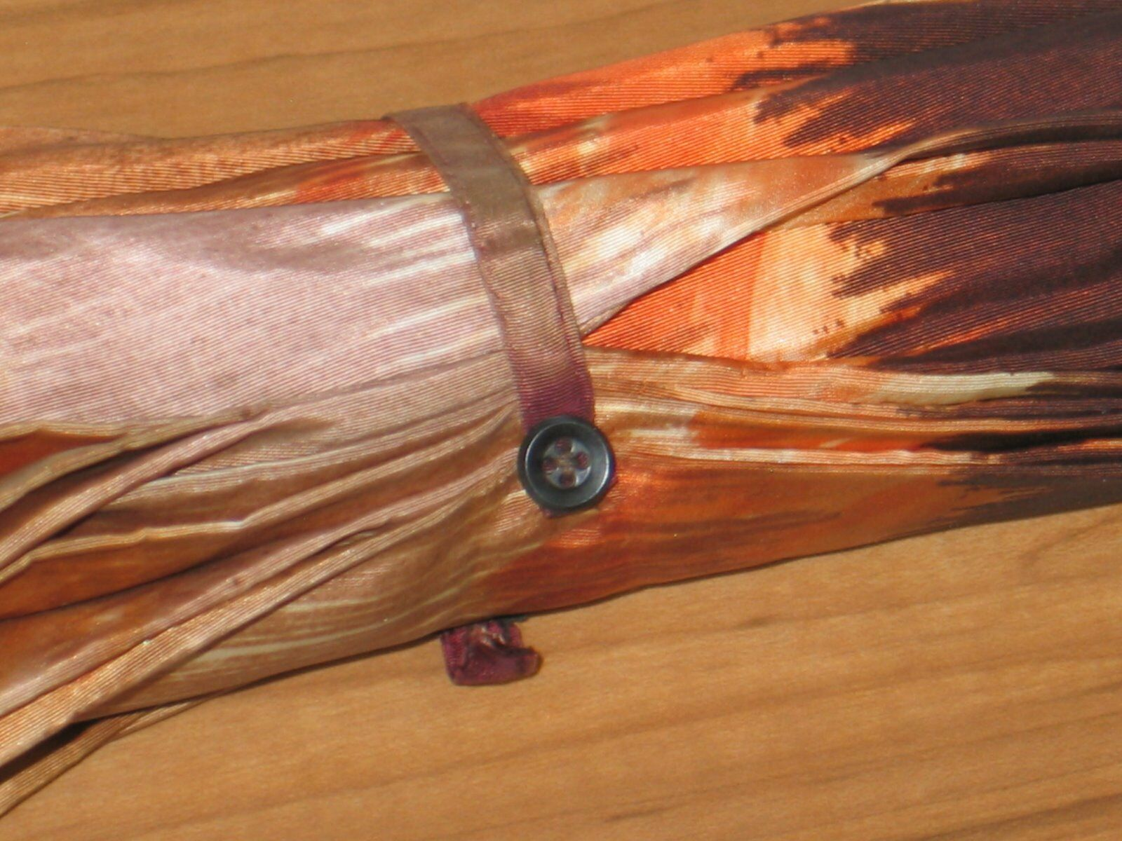 Vintage 1970s Umbrella MOD Fashion-Hippie- Boho-W… - image 6