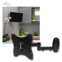 """LCD Plasma LED TV Wandhalter 17-37"""" Wandhalterung neigbar schwenkbar Halterung"""