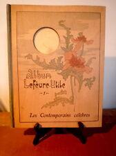 Album Lefèvre-Utile. Les Contemporains Célèbres. 1904. Mucha. Sarah Bernhardt