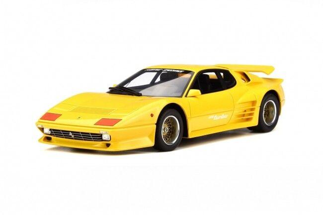 1 18 GT SPIRIT GT702 KOENIG 512 BBi BB TURBO YELLOW model car FERRARI BB512