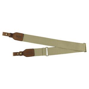 Tourbon-Gun-Sling-Rifle-Shoulder-Belt-Tactical-Strap-Shooting-Brown-Vintage