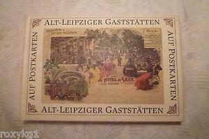 Alt-Leipziger-Gaststaetten-auf-Postkarten-Leipzig-1989-1-Aufl-108-Seiten