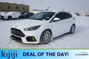 2017 Ford Focus AWD RS Navigation (GPS),  Leather,  Heated Seats,  Sunroof,  Back-up Cam,  Bluetooth,