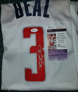 uk availability e3368 823e2 Details about Bradley Beal Signed Jersey Size XL in person JSA CERTIFIED