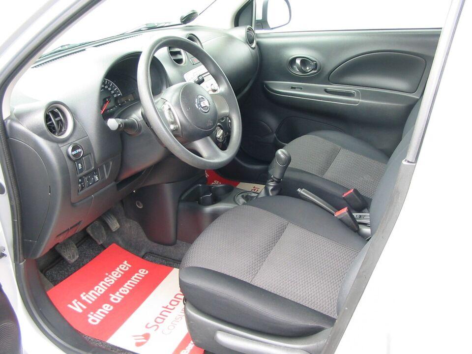 Nissan Micra 1,2 Visia City Benzin modelår 2011 km 90000