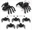 Black-Spider-Realistic-Halloween-Decoration-Halloween-Props-Animal-Black-50pcs thumbnail 6