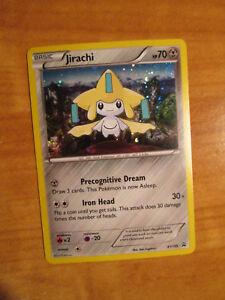 Mythical Jirachi XY195 XY Black Star Holo PROMO Pokemon Card