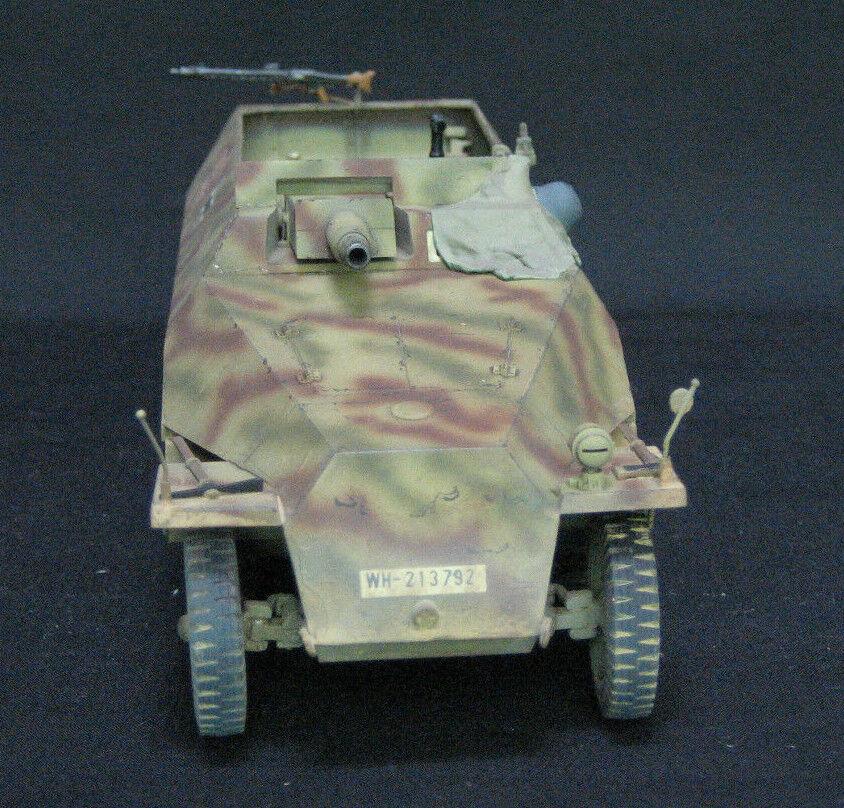 TAMIYA GERMAN HANOMAG SdKfz 251 9 Ausf D PRO BUILT AND PAINTED 1 35 MODEL KIT