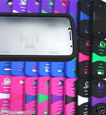 BUILT IN SCREEN PROTECTOR Phone Case For Alcatel One Touch Fierce 2 / 7040T