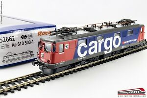 ROCO-52662-H0-1-87-Locomotiva-elettrica-SBB-CFF-FFS-Ae-610-livrea-CARGO-Ep