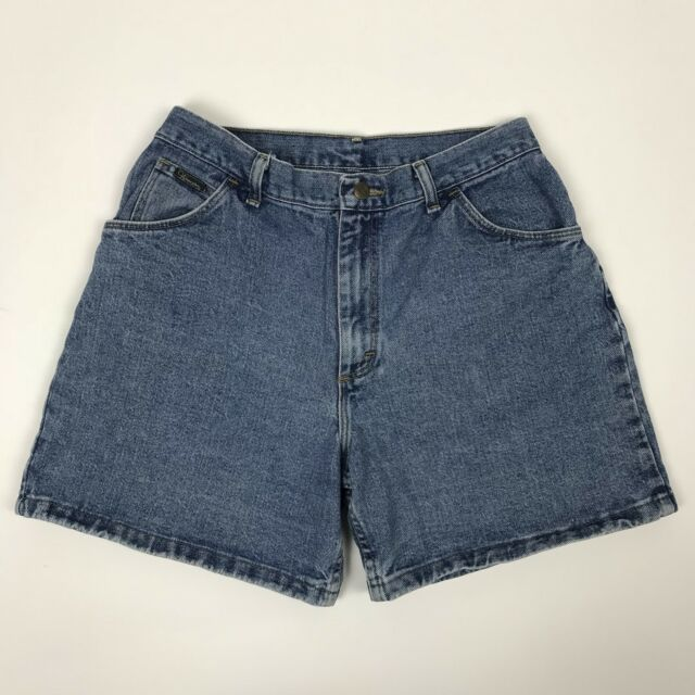 High Waist Wrangler Mom Jeans Shorts Denim Vintage 90s Fashion