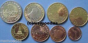 Slowenien Kms 2007 Mit 8 Euromünzen 1 Cent Bis 2 Euro Slovenia Euro
