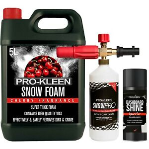 ProKleen Snow Foam Lance Cannon Gun Karcher Compatible 5L Shampoo Wash Detailing