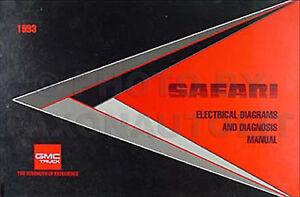 1993    GMC       Safari    Van    Wiring       Diagram    Manual 93    Electrical    Schematic Original OEM   eBay