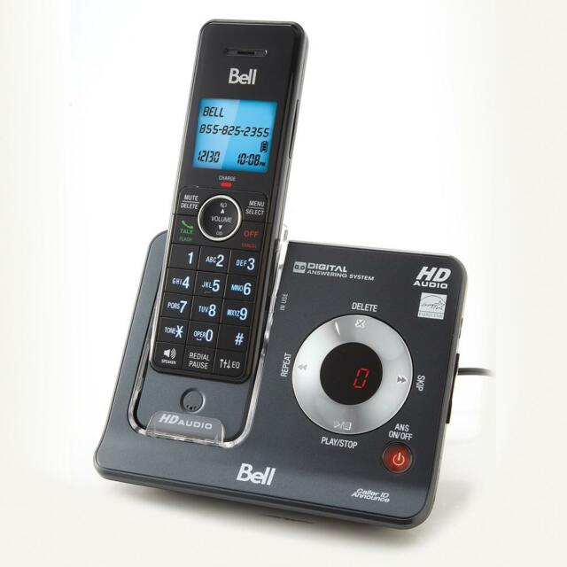 Bell BE6425-3 Dect 6.0 Cordless Phone with 3 Handsets & Digital Answering System