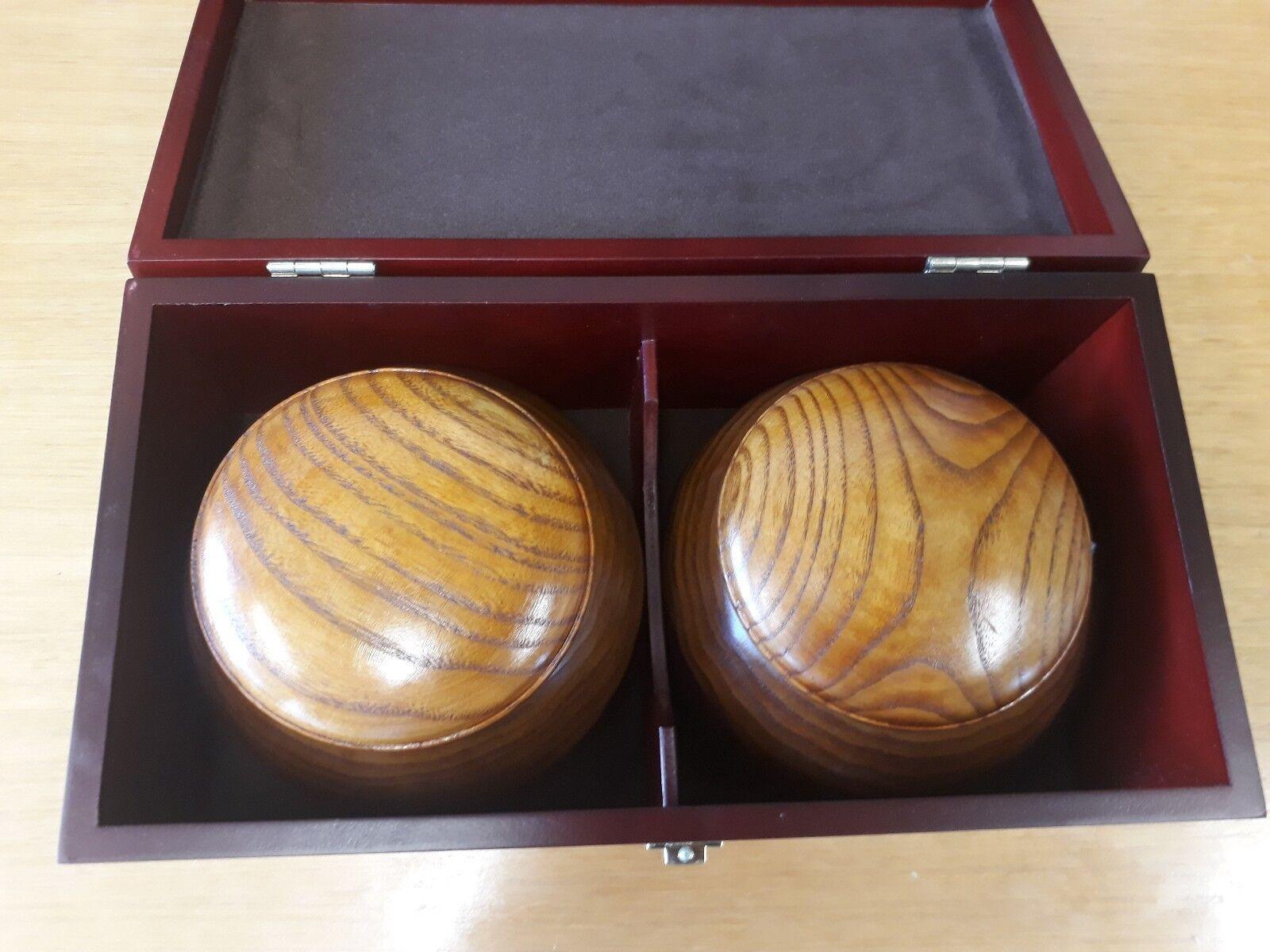 Biconvex Stones, Jujube Bowls e scatola