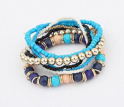 Hot Fashion Women Lots Style Bracelet Gold Rhinestone Bangle Charm Cuff Jewelry