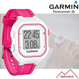 213defc87 La imagen se está cargando Garmin-Forerunner-25-GPS-Reloj-Atletismo-Rosa