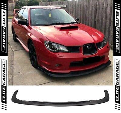 Subaru Impreza Blobeye WRX Front Lip Spoiler Splitter 2003-2005 Grey Primer