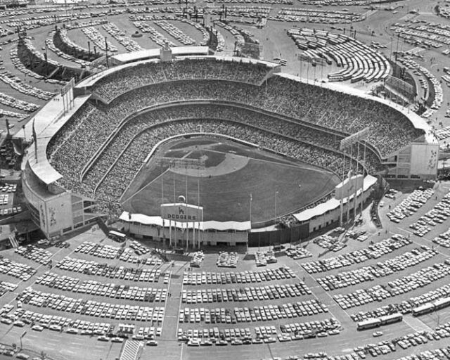 Los Angeles Dodgers DODGER STADIUM Glossy 8x10 Photo Field Chavez Ravine Poster