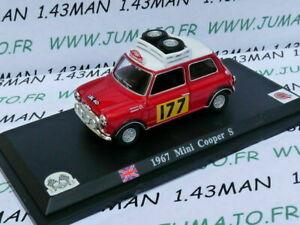 DP7T-VOITURE-1-43-DEL-PRADO-Mini-Cooper-S-1967-rallye-monte-carlo
