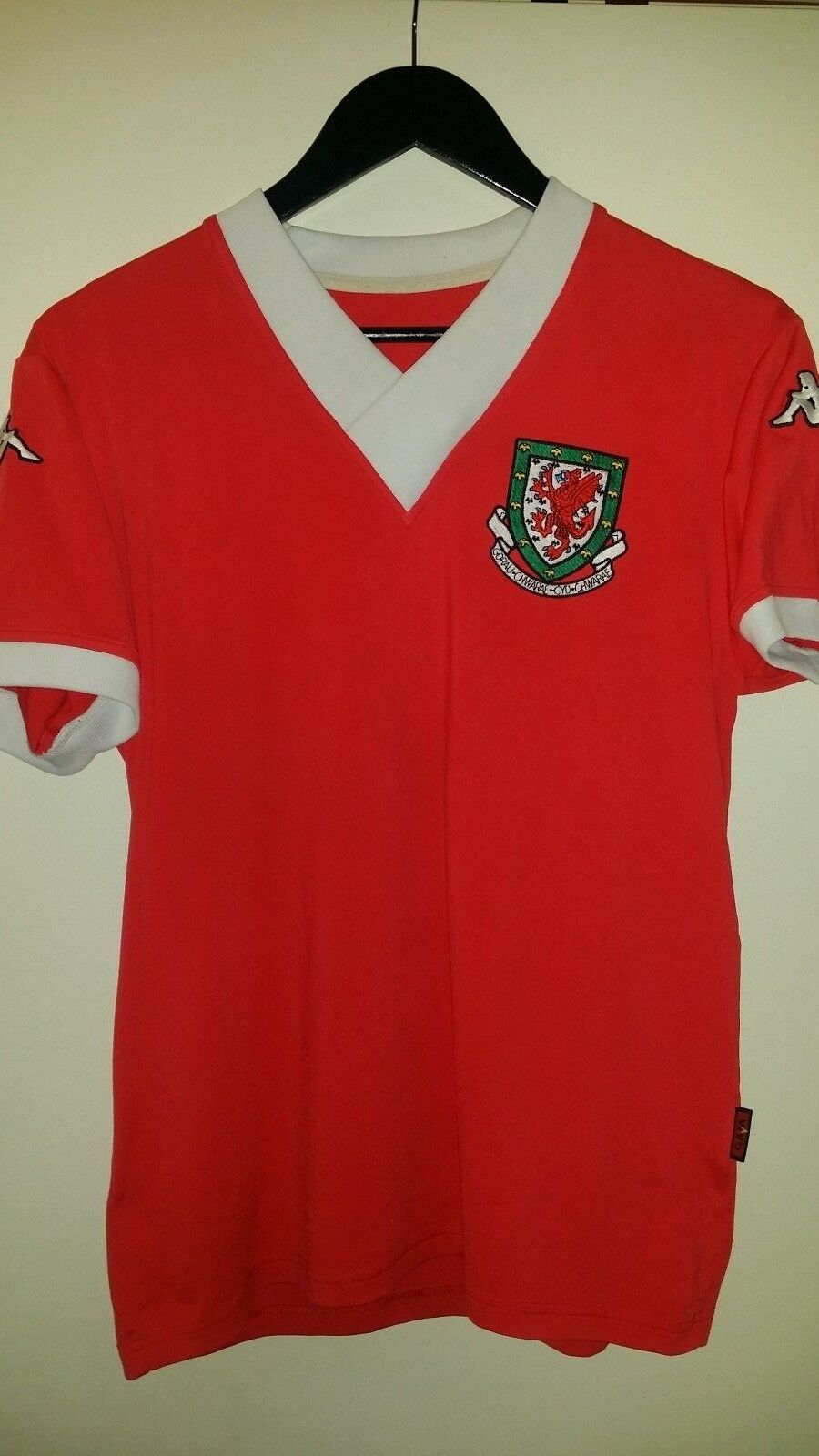 0c02ca98411 Jersey football Wales 2006 kappa L red nvwkoy8146-Men - www ...