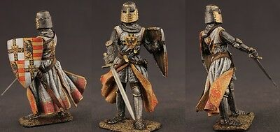 XIV century. Tin toy soldiers ELITE painted 54 mm  Scottish Knight