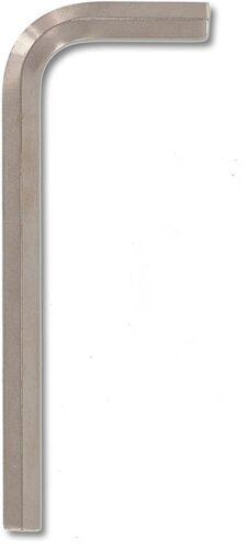 Bondhus 16280 12mm Hex Tip Key L-Wrench with BriteGuard Finish Short Arm