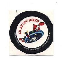 Adesivo ATLAS UFO ROBOT Prod RAI 1978 Sacis Pegaso GOLDRAKE sticker autocollant