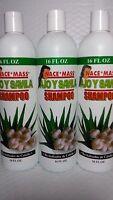 3x Shampoo Nace Mass Ajo Savila 16 Fl Oz Each (pack Of 3) Unisex All Hair Types