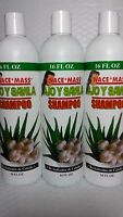 3x Shampoo Nace Mass Ajo Savila 16 Fl Oz Each (pack Of 3) Unisex All Hair Types