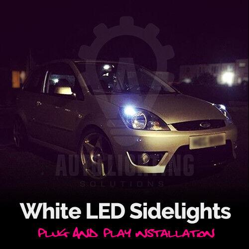 For Ford Fiesta Mk6 Mk 6 ST 2002-2008 Xenon White LED Side Light Bulbs *SALE*