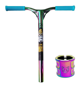 Clamp Replacements Combo Team-Dogz Scooter Rainbow Bars Handlebars Oversized
