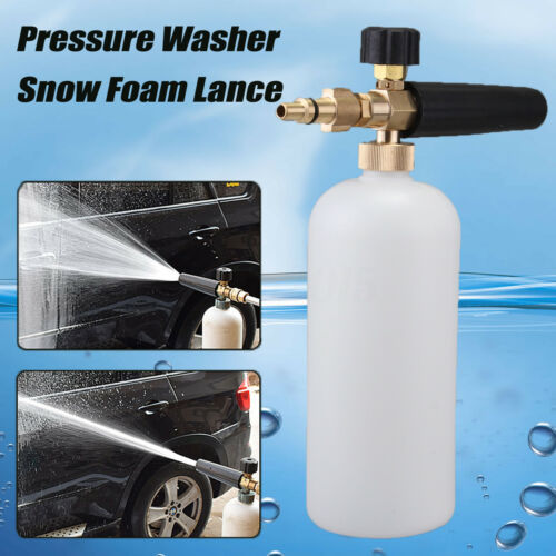 Heavy Duty Pressure Washer Foam Lance For Aldi Workzone Qualcast VAX Ryobi