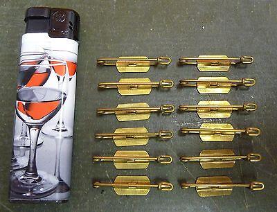 Ersatzteil Abzeichen Orden Nadel Abzeichennadel Anstecker 12 St