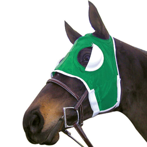 Intrepid International NEW Blinker Hood Half Cup Horse Racing Adjustable