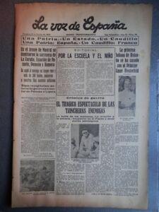 PERIoDICO-CARLISTA-GUERRA-CIVIL-08-01-1937-TOMA-DE-POZUELO-HUMERA-Y-EL-ESCORIAL