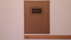 1924-HUPMOBILE-B-amp-W-Catalog-Sales-Brochure-Better-than-Good-condition