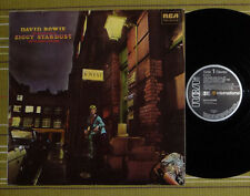 DAVID BOWIE, THE RISE AND FALL OF ZIGGY STARDUST LP 1972/1983 UK VG+/EX