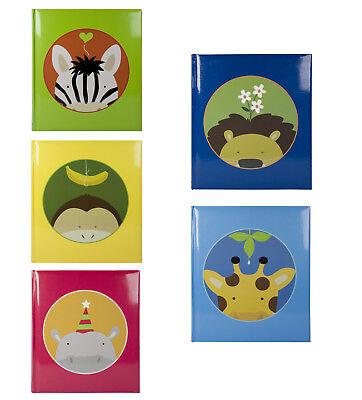 Einsteckalbum Kinderalbum von Henzo Jungle für 200 Fotos in 10x15