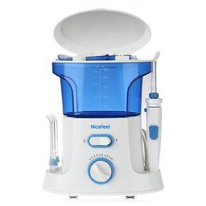 Oral Dental Irrigador Limpiador de Dientes Agua Hilo Flosser Jet Teeth Cleaner