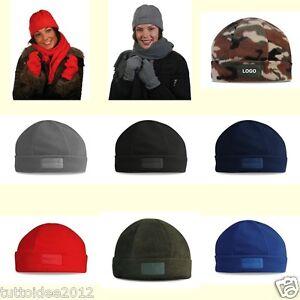 Caricamento dell immagine in corso CAPPELLO-zuccotto-berretto-aderente-in- pile-invernale-caldo- 0166c993892e