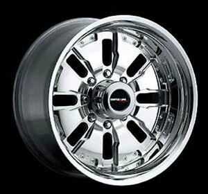 "16x8"" Centerline Forged Aluminum Wheels. Flint Style *1 Only*, 6-5.5 Bargain!"