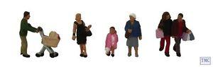 379-306 Scenecraft N Gauge Shopping Figures