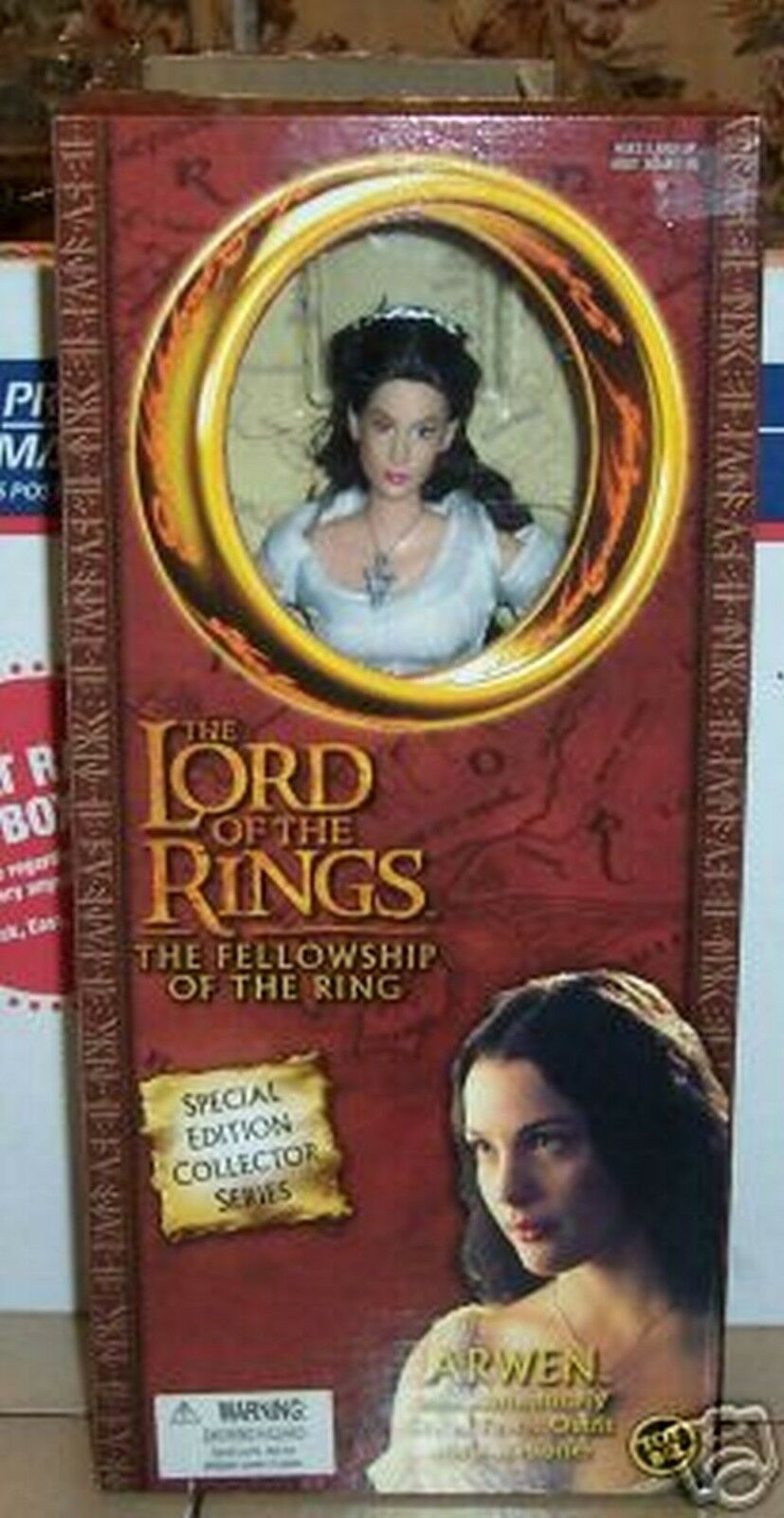 Lord Of the Rings ARWEN 12  Doll Weiß Dress Action Figure Toy Biz MIP RARE VHTF