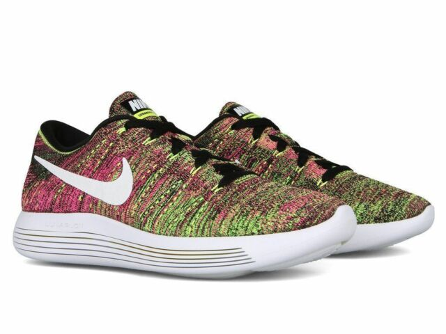 new styles 67f90 891a0 Nike Lumarepic Low Flyknit OC Multi Color 844862 999 Mens Running Shoes