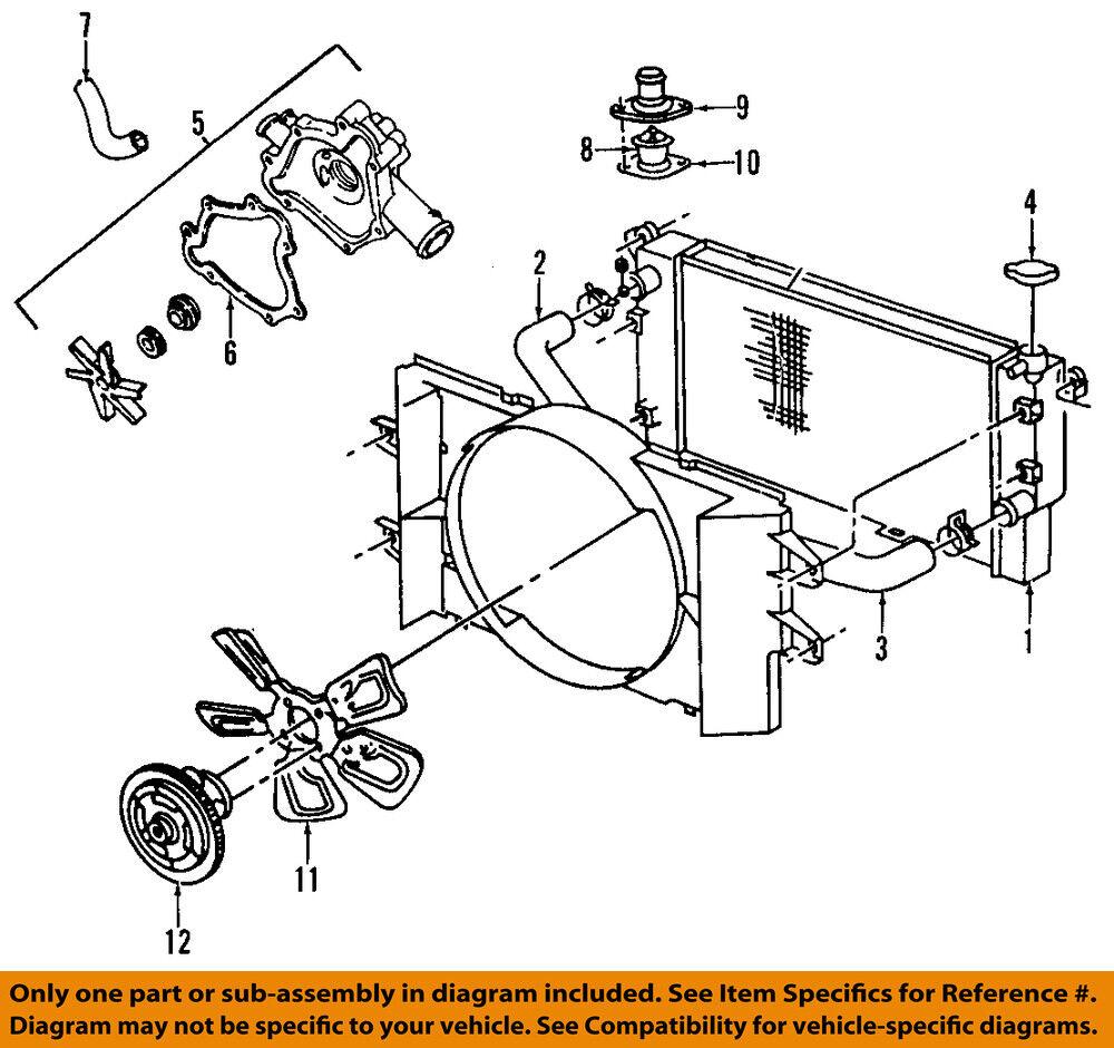 Radiator Cooling Unit Front Mopar 52028877AC