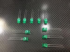 10pcs-SanKen-LED-GREEN-SEMICONDUCTORS