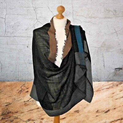 BNWT Premium Luxury FINE winter warm plain wool Scarf Shawl pashmina FREE GIFT